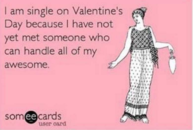 But really. I love you all. #Valentines #singlegirlproblems #singleawarenessday https://t.co/iGNoRr4y5z