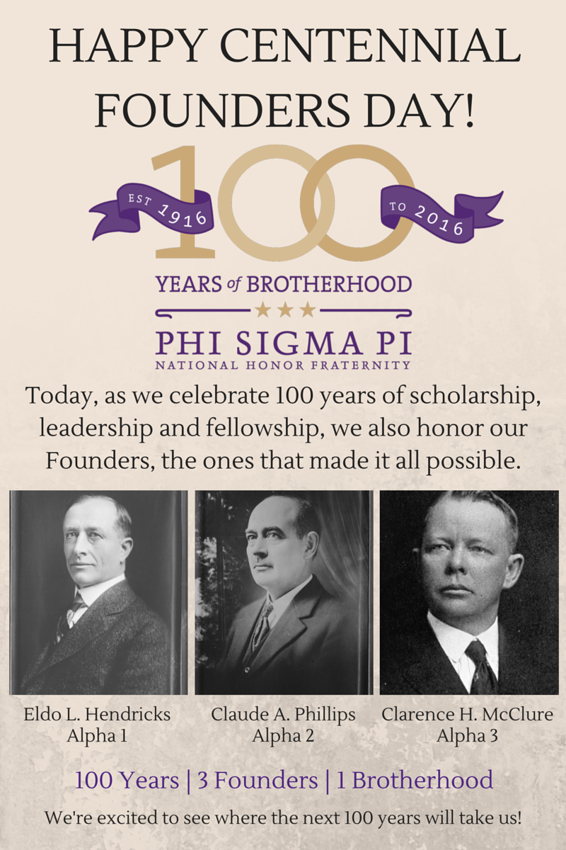 Today is the day! Happy Centennial Founders Day to all of our Members! #psp100 https://t.co/FM7NaAYT9q