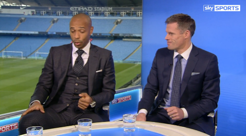RT @SkyFootball: #LCFC played like champions, #AFC didn't. Watch @Carra23 & @ThierryHenry's reaction: https://t.co/91JsGOiaQw https://t.co/…