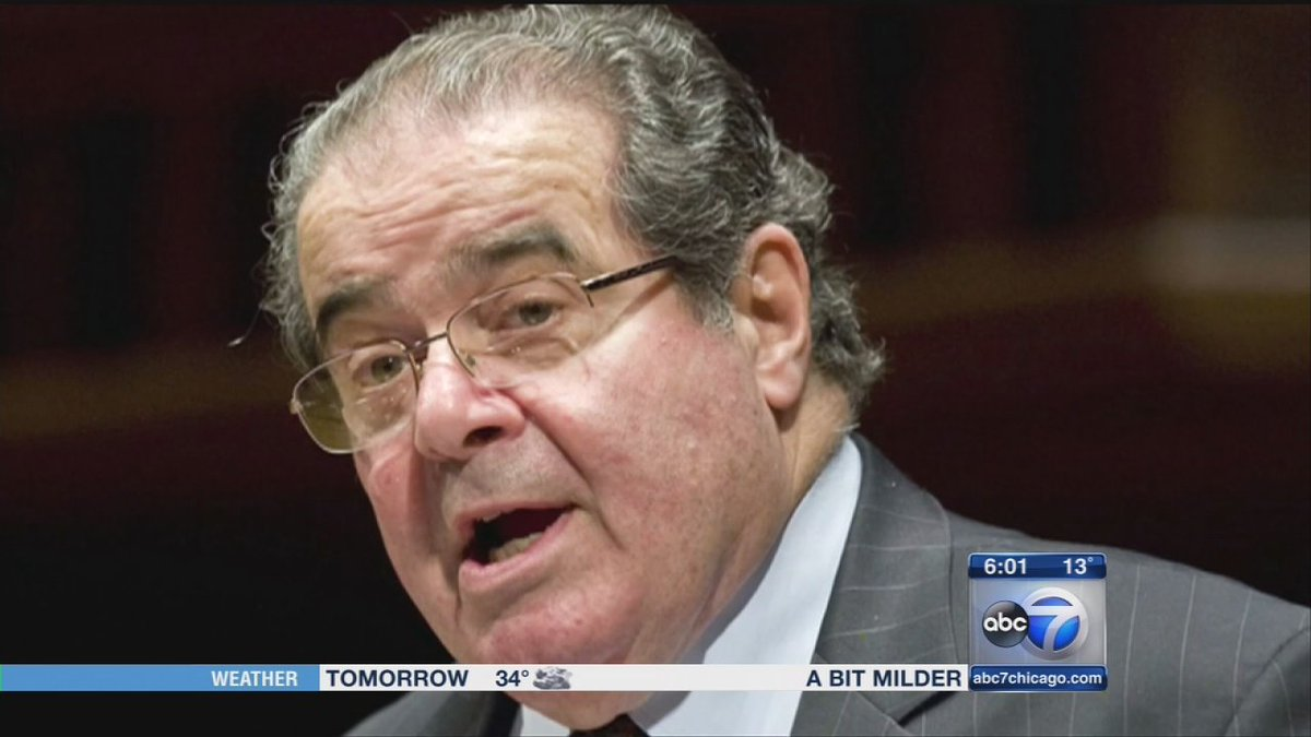 REST IN PEACE: U.S. Supreme Court Justice Antonin Scalia passed away yesterday. He was 79.