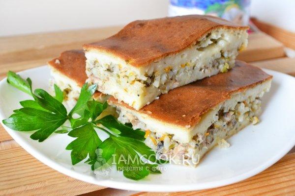 Рецепты заливных пирогов с фото простые и вкусные