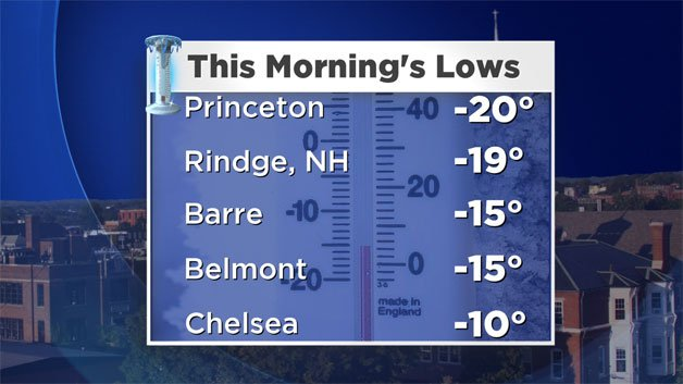 Cold Records Shattered Across Region