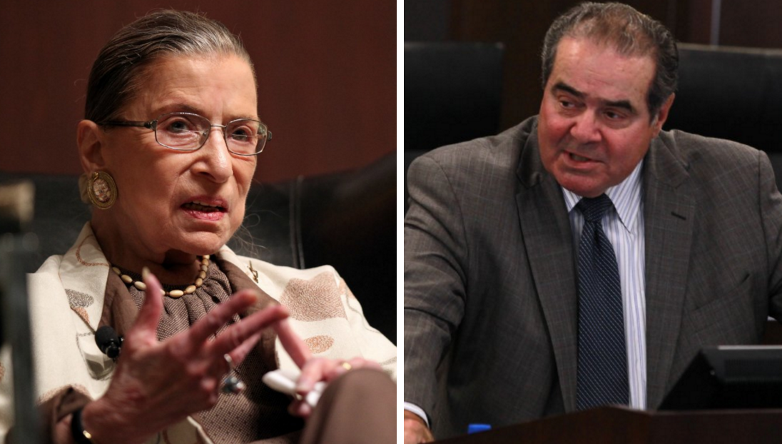 Ruth Bader Ginsburg and Antonin Scalia were BFFs despite their ideological differences