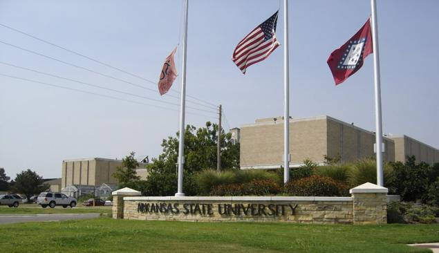 DEVELOPING: @ArkansasState is on lockdown after armed men were spotted on campus