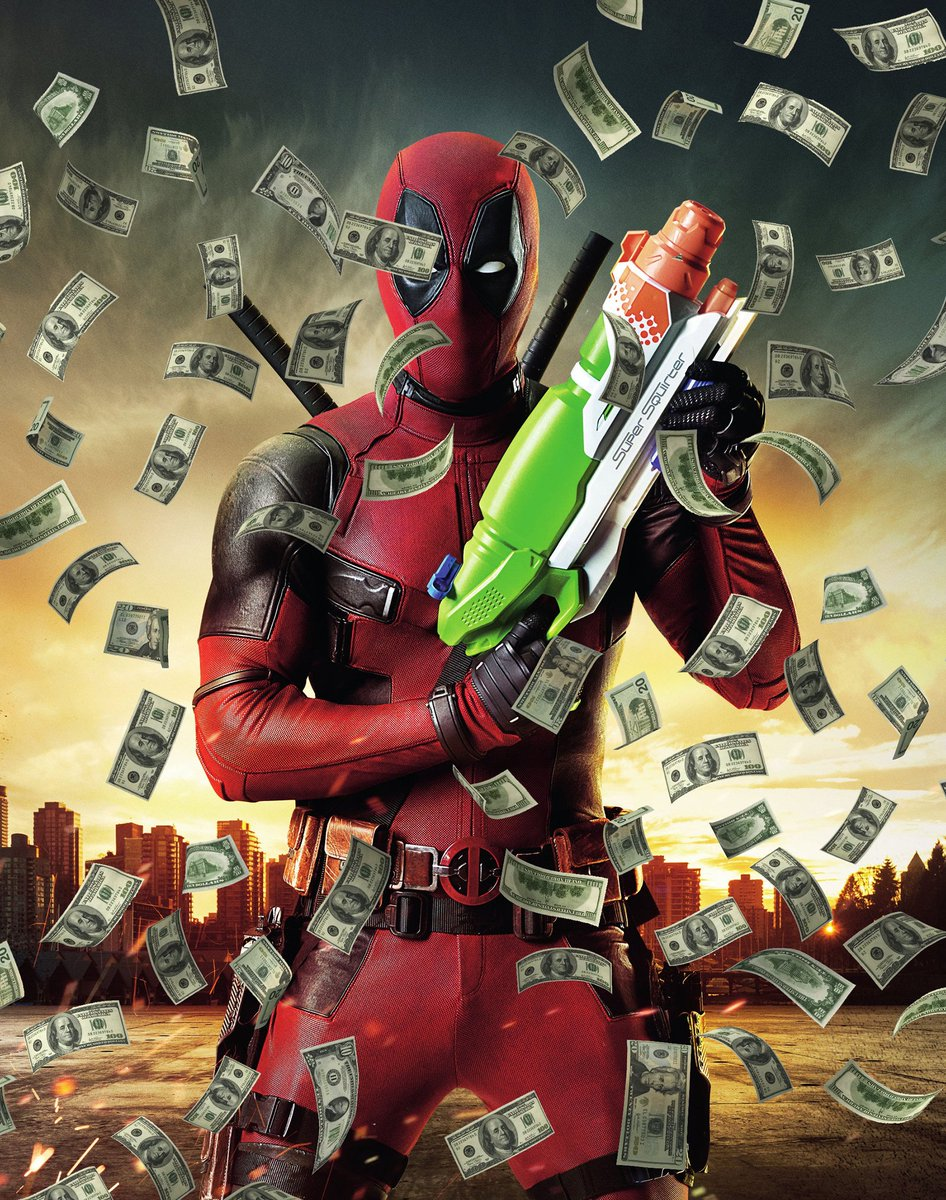 No solo Marvel character debut movie has ever made as much as R-rated, no-3D Deadpool. https://t.co/M9HGLLpvIw