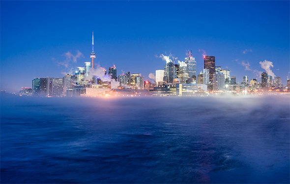 Here's a refresher if you've forgotten what winter looks like in Toronto