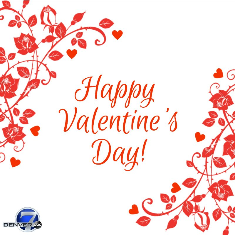 From all of us at Denver7, to all of you who are celebrating love today: HappyValentinesDay