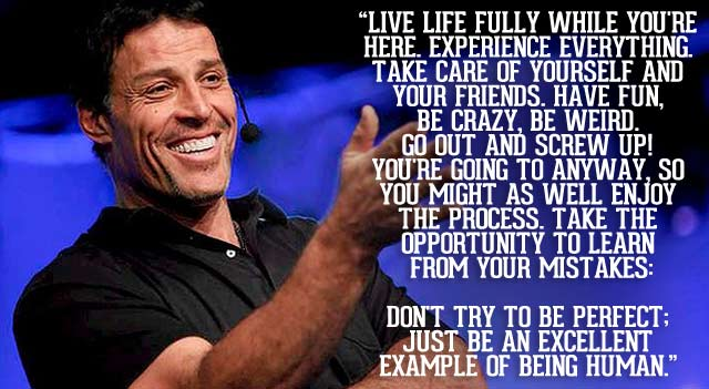 Live life fully... @TonyRobbins #quote #leadership https://t.co/ymK2lr9RDf