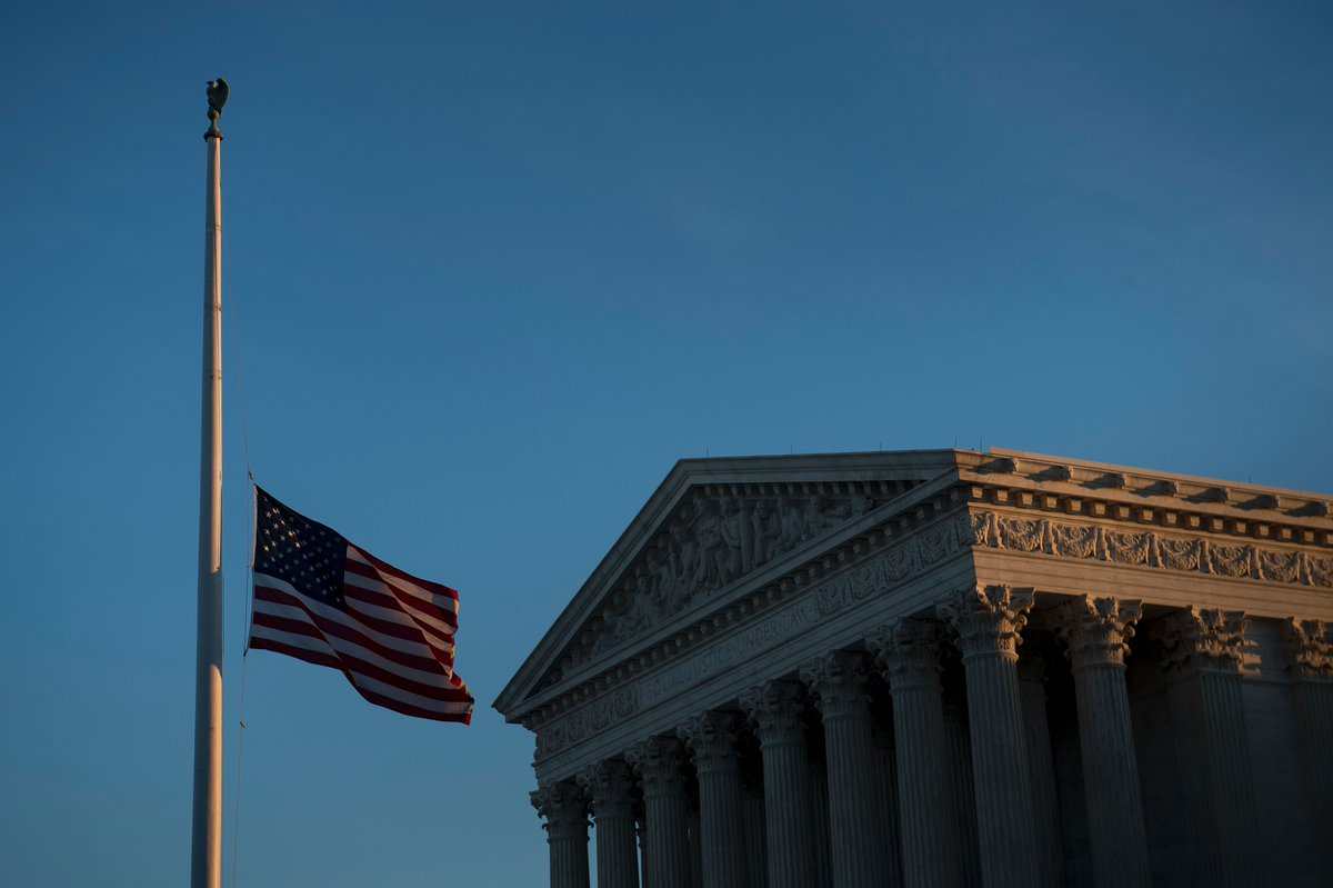 Presidential proclamation ordered flags to be flown at half-staff in honor of Justice Scalia