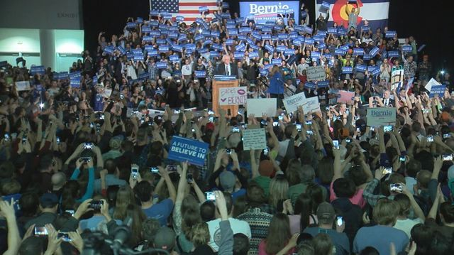 FeelTheBern? Bernie Sanders draws more than 18,000 in Denver, campaign says