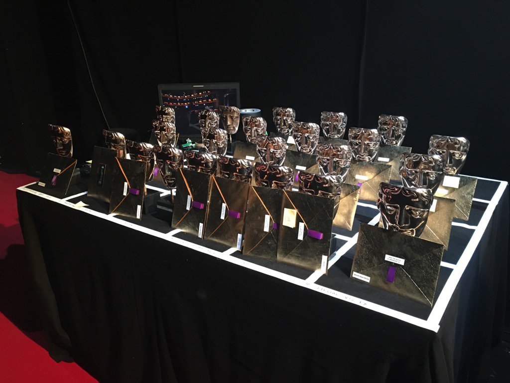 The masklets await their destiny .… #EEBAFTAs https://t.co/hcgDbVdelf