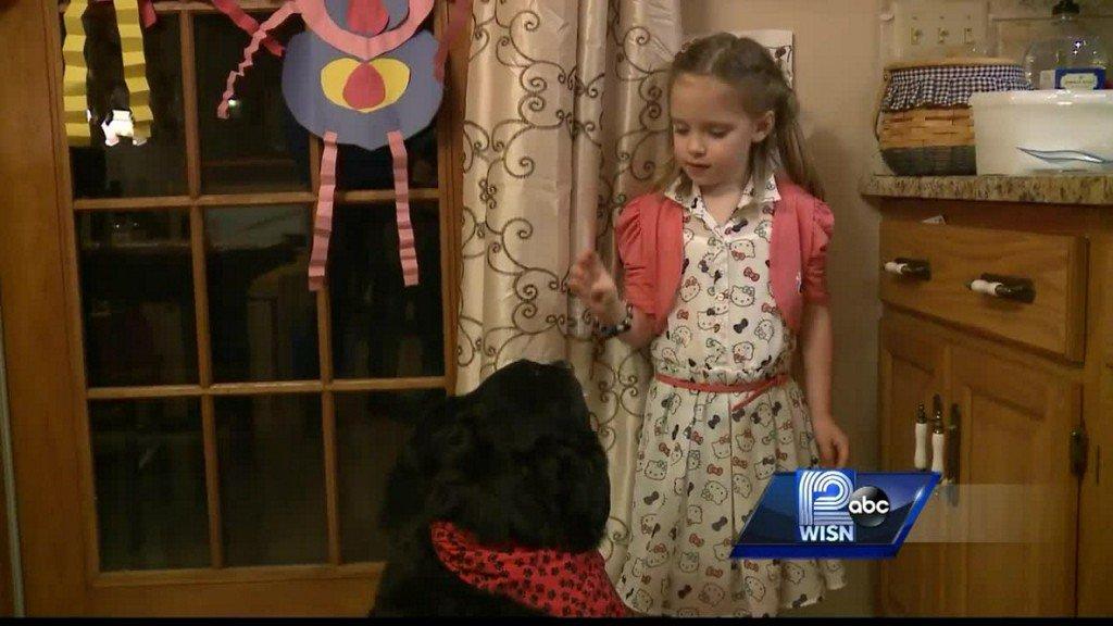 Hero dog alerts owner of gas leak, saves family