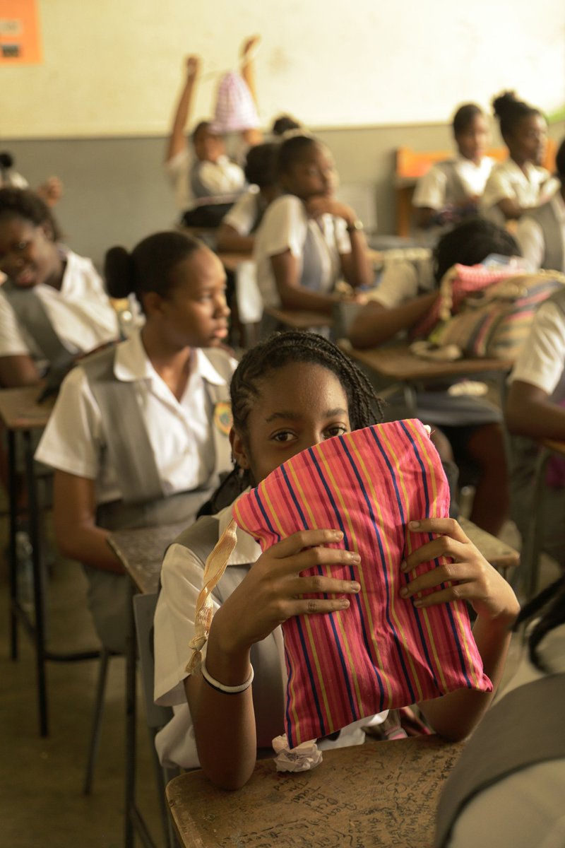 Michigan-made sanitary pads keep girls around the world in school
