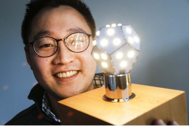 New light bulb technology fights jet lag and keeps the kids calm
