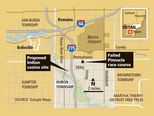 Failed Wayne Co. horse track tied to new casino plan