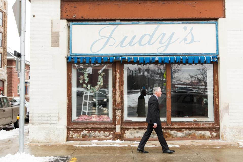 A blue-collar city in Maine sees a reason for hope with help from an unexpected source