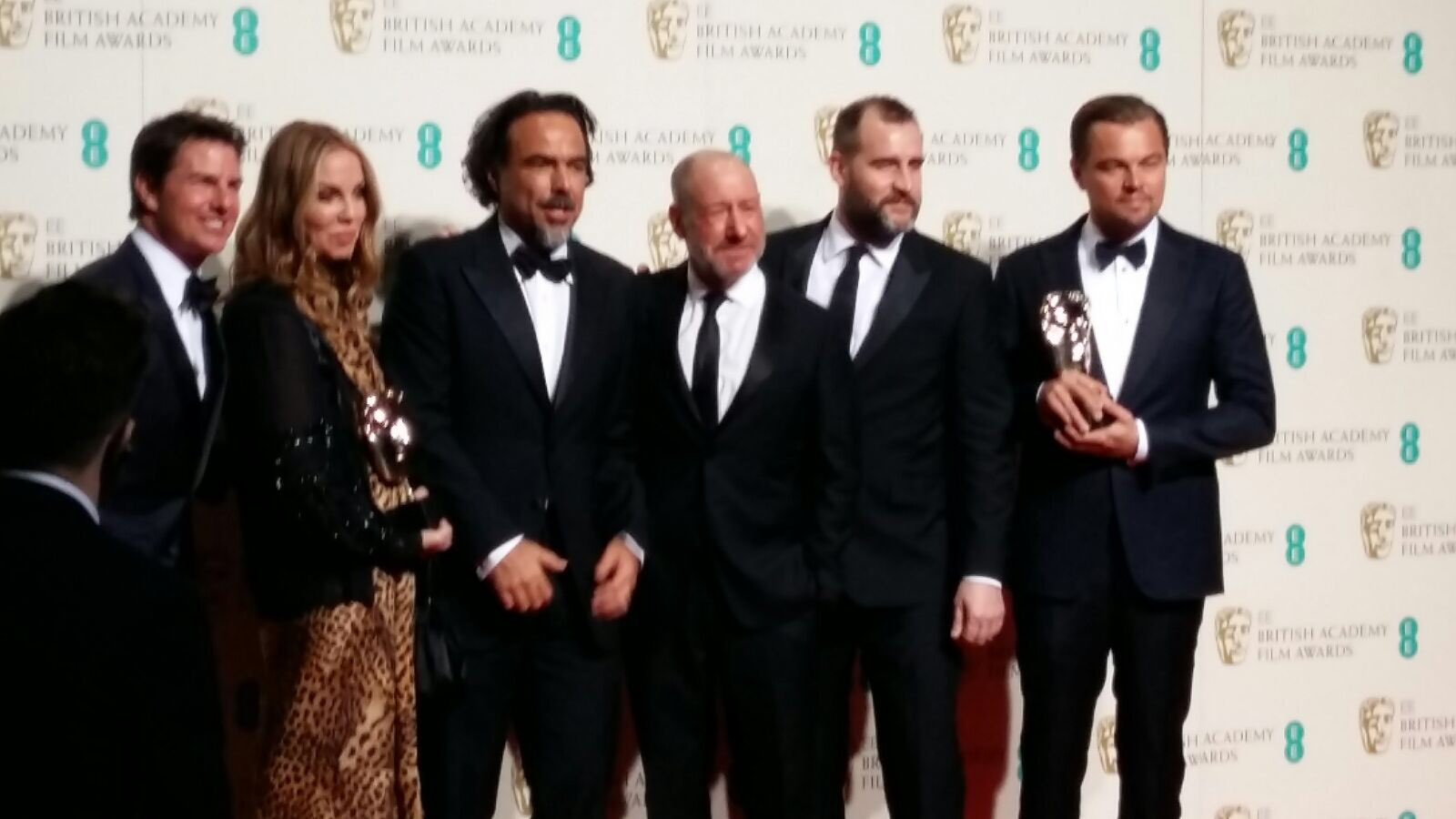 Here they are your #BAFTA starry line-up. Great night 🌟🌟🌟🌟🌟 https://t.co/M8hvOWTpyP