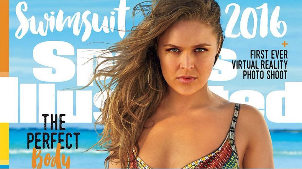 RT @ufc: ICYMI: @RondaRousey made history ... again! #SISwim @SI_Swimsuit 👉 https://t.co/5A9mjbg4uE https://t.co/PwnpfEGENa