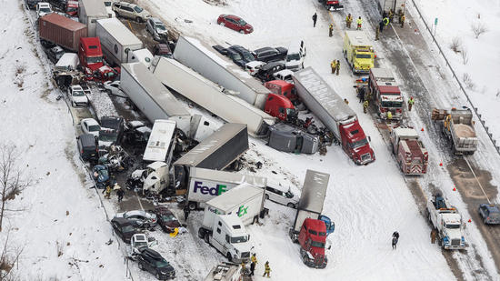 Massive pileup in Pennsylvania leaves 3 dead, 73 injured; authorities ID the victims