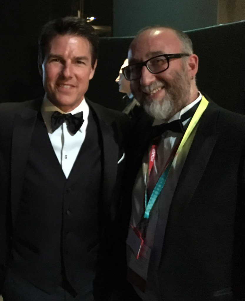 My brotger @Ivorbaddiel, who writes the BAFTA script. Oh, and some John Barrowman lookalike. https://t.co/FjlVLuJ0eG