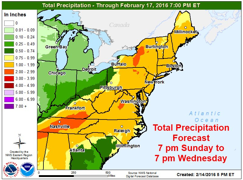 Nws Eastern Region On Twitter Storm Will Track Across The Eastern Us Monday Tuesday Bringing A Mix Of Snow Sleet Freezing Rain And Rain