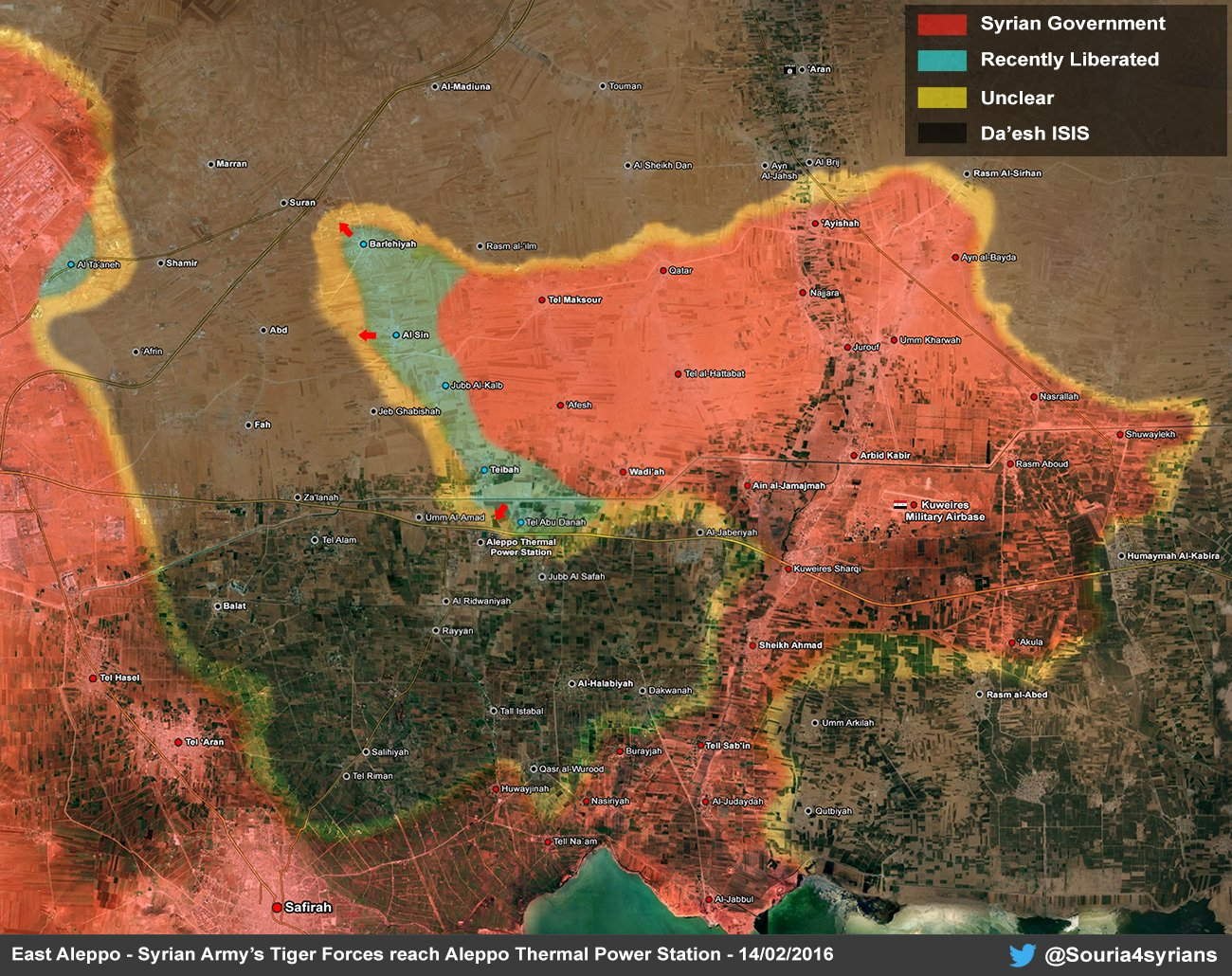 Syrian Civil War: News #6 - Page 21 CbNoKsdWEAEU435