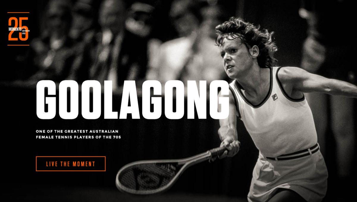 "AusOpen on Twitter ""Living in the 70 s and Evonne Goolagong"