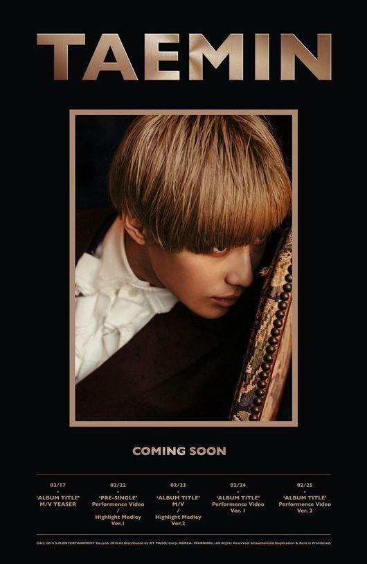 "3 performance videos! ""pre-single"" ""album title"" perf vid 2 versions! #TaeminIsBack <br>http://pic.twitter.com/KAEiKWyMsK"