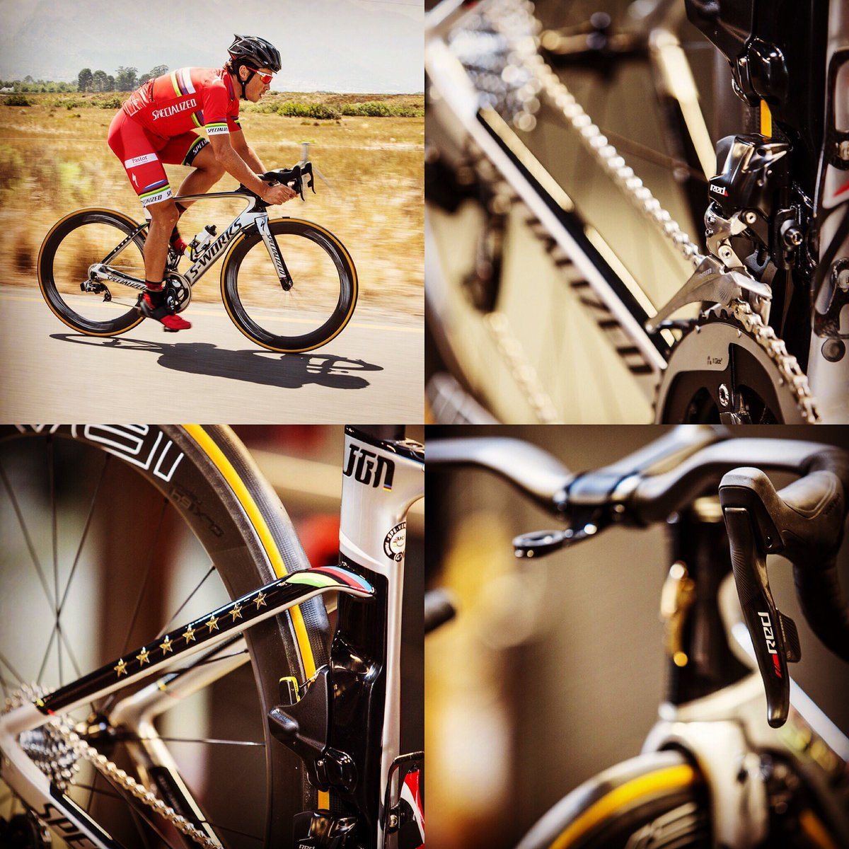 Five-time #ITU World Champion, @jgomeznoya, got his new bike: Specialized Venge ViAS SRAM RED #eTap