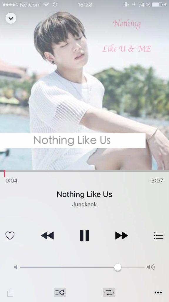 """시리ㅇㅅㅇ on Twitter """"DL BTS Jungkook Nothing Like Us MP3"""