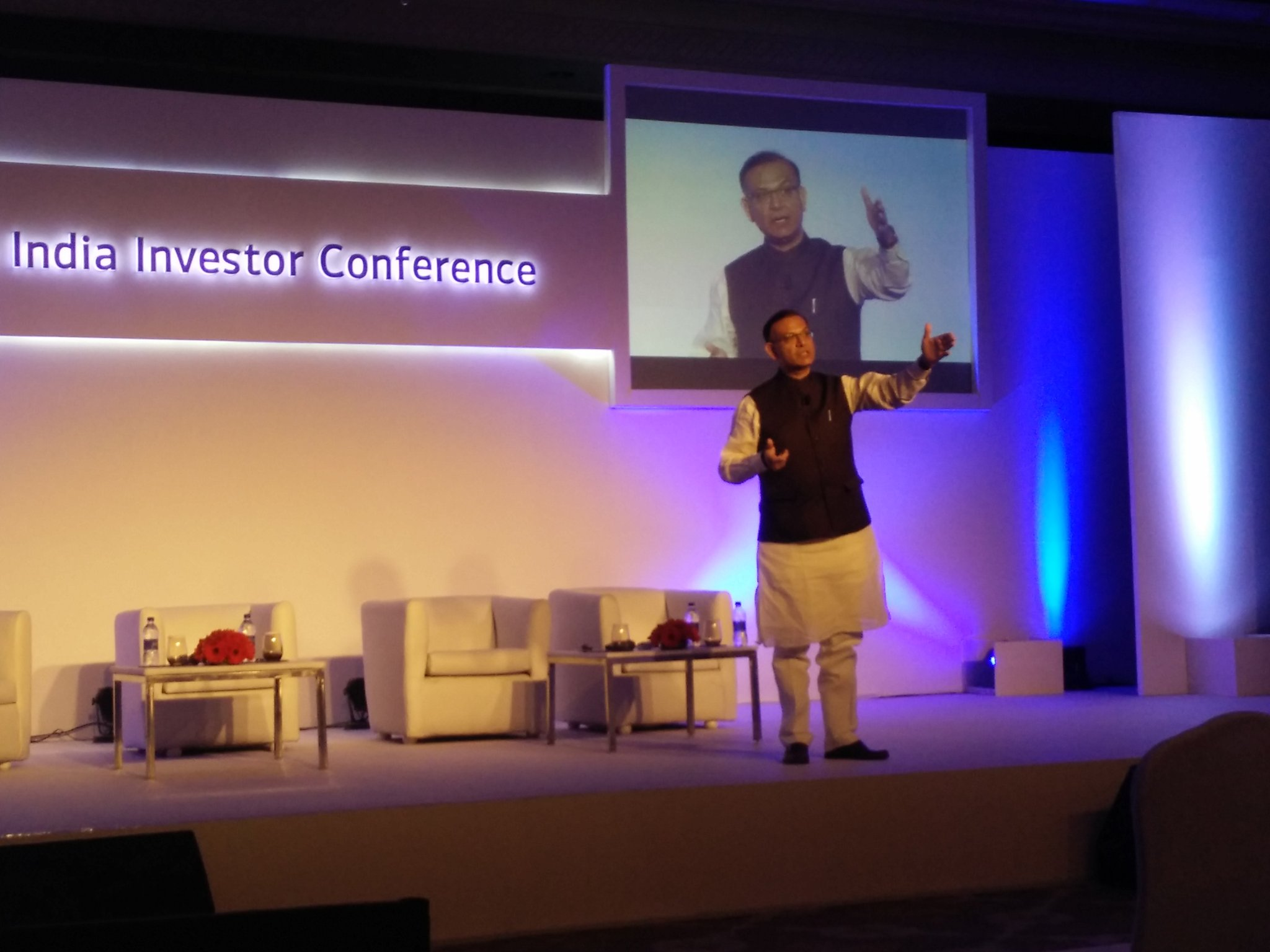 jayant sinha on addressing fiis at the merrill lynch jayant sinha on addressing fiis at the merrill lynch investor conference explained steps taken by govt to promote business