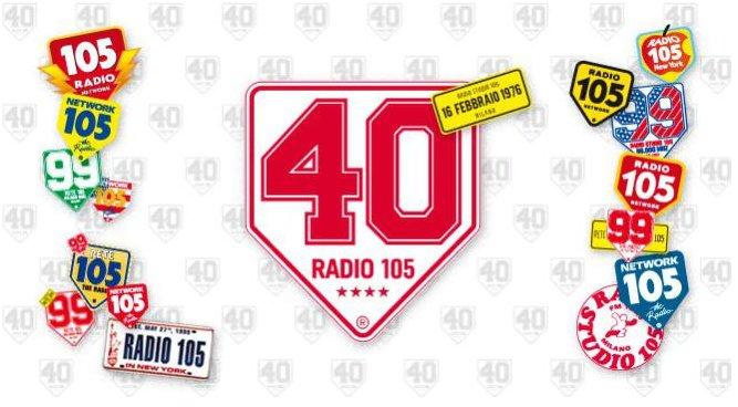 40° Compleanno di Radio 105 in diretta streaming