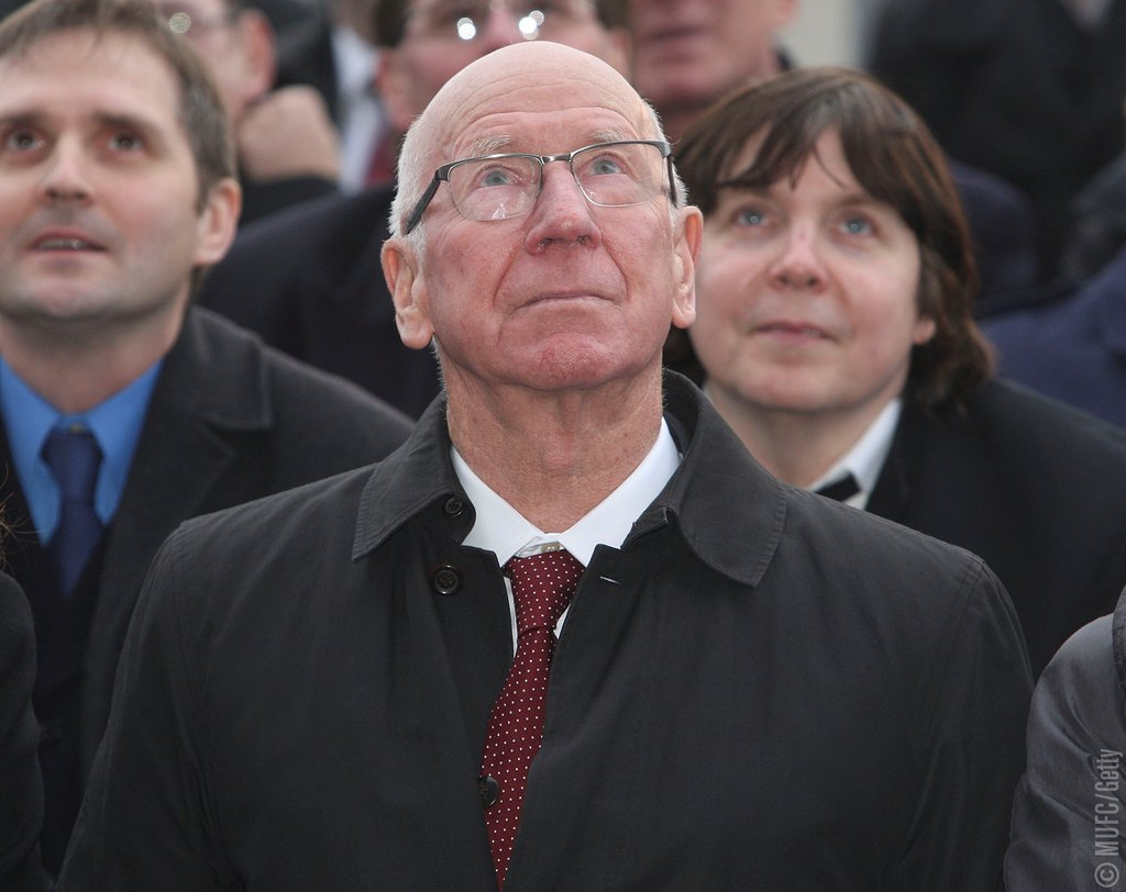 South Stand at Old Trafford will be renamed the Sir Bobby Charlton Stand.  It will be unveiled on 2nd April. #MUFC