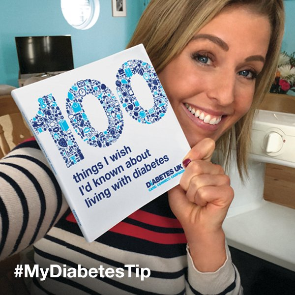 Our charity partner @DiabetesUK is offering a #MyDiabetesTip book for people with diabetes: https://t.co/9fb61YBCY4 https://t.co/Bx2fZH1bgE