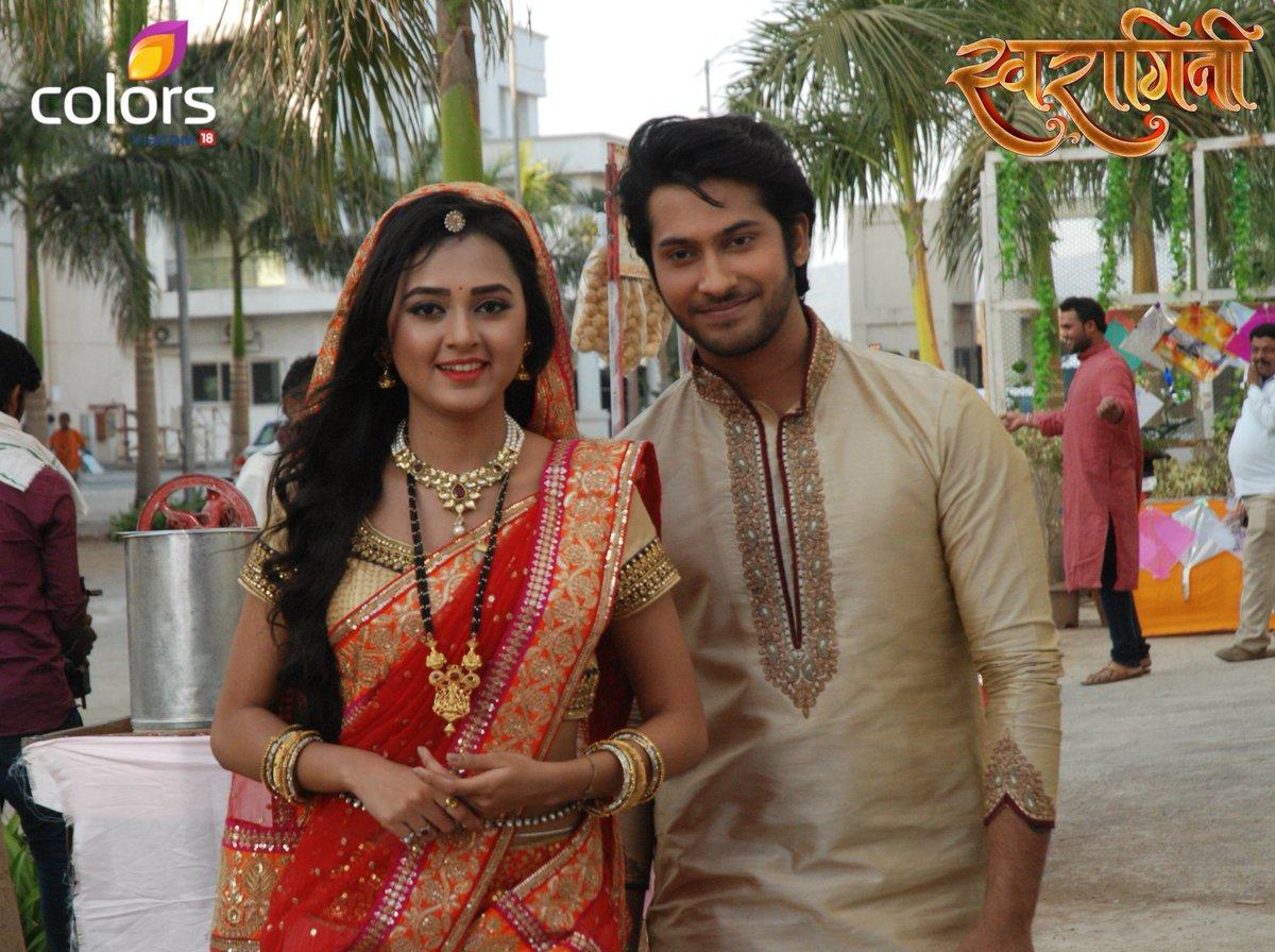 Ragini and Lakshya Latest Image - Tejaswi Prakash and Namish Taneja in Swaragini on Colors TV Picture