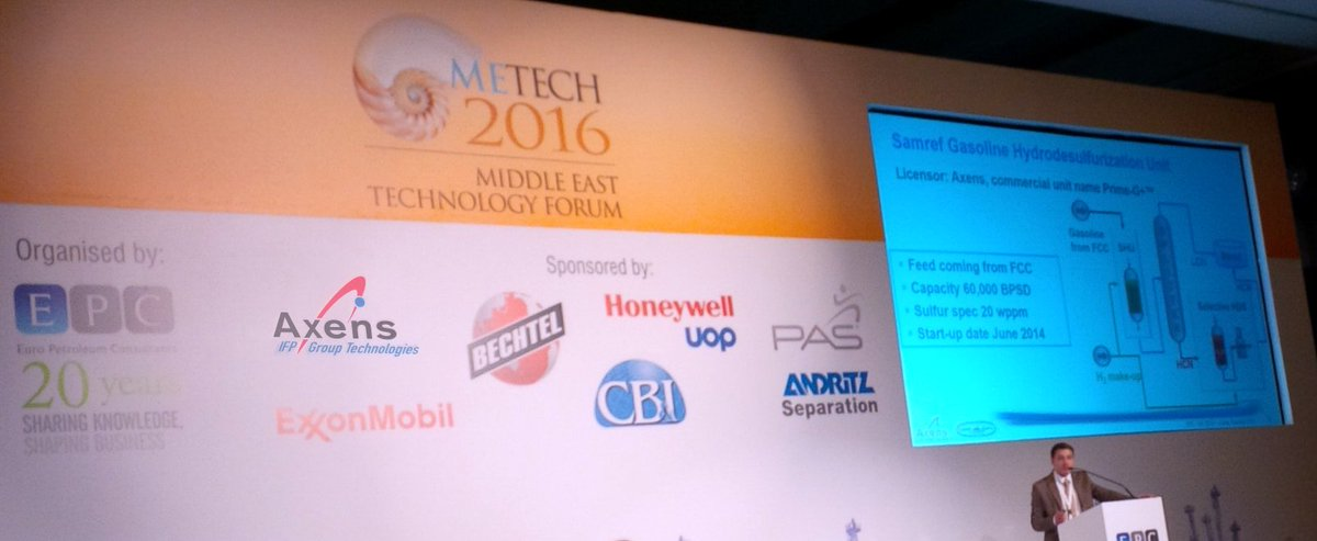 Axens On Twitter Me Tech 2017 Metech Expert D Maintenant Presenting Advanced Process Control Project With Samref S T Co Vzymkwurut