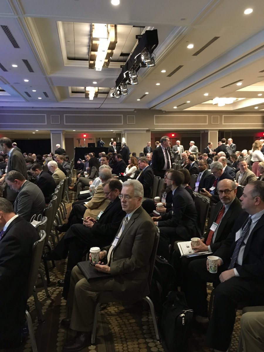 Neither snow not sleet nor rain is keeping a full crowd from this morning's general session #NARUCWinter16 https://t.co/HnmaqKDYjo