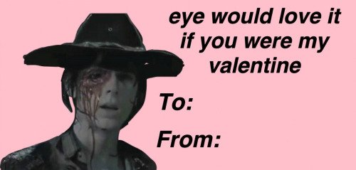TWD Valentines Followed