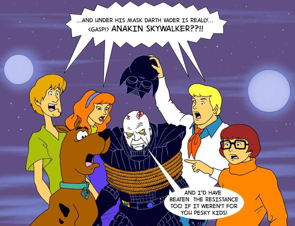 #IThinkItWouldBeGreatIf If ruled the Galaxy. I nearly got away with it if it hadn't been for those pesky kids... https://t.co/qmlyQ1gwQb