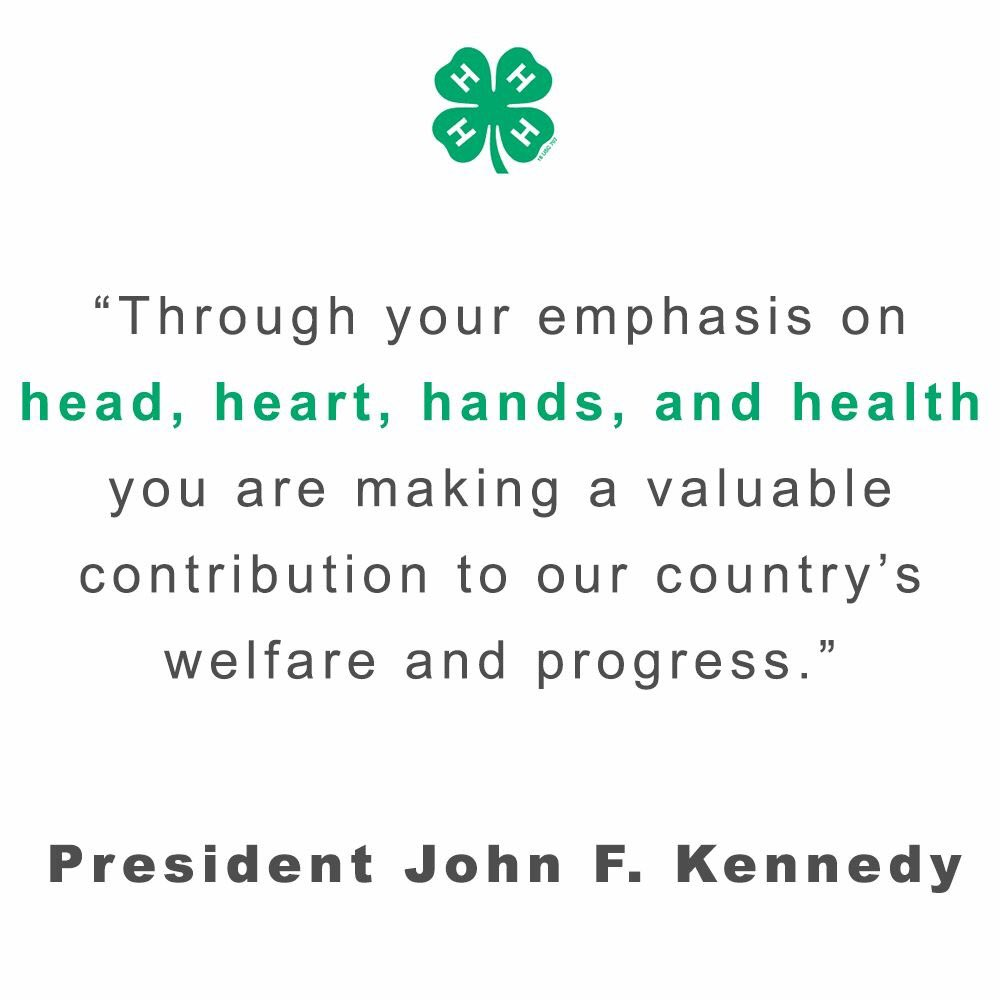 "4 H Quotes Classy Mississippi 4H On Twitter ""in Honor Of Presidentsday We Will"