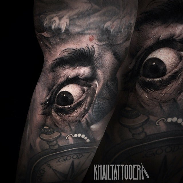Sinister Ink Tattoo On Twitter Realistic Eye Gap Filler By The Amazing Khail Aitkin Sinister Ink Wa Https T Co Dzyd1mwjon