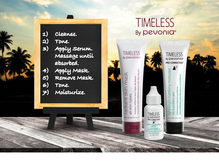Timeless By Pevonia On Twitter The Best Way To Use Our New Pro