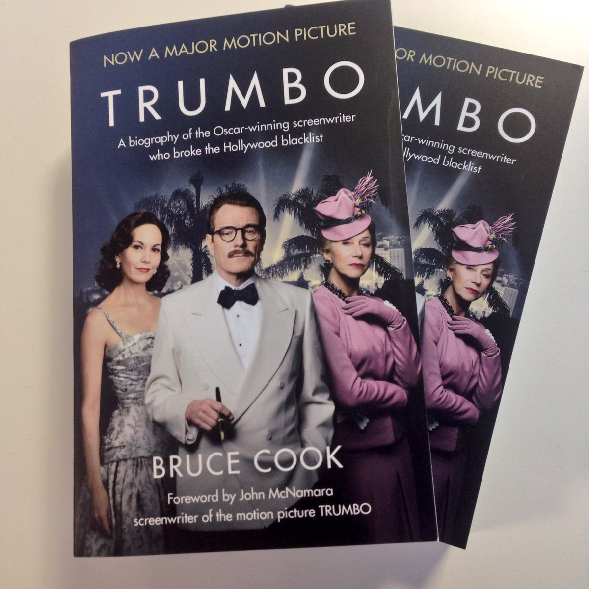 Want to win a #Trumbo book? The story behind the film! RT to win. https://t.co/v1dtZv747i