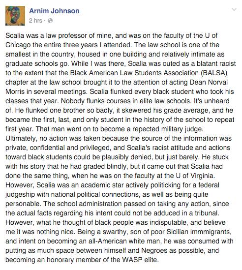testimony to Antonin Scalia's personal racism https://t.co/69AREjc25U https://t.co/RWOGGao0yV