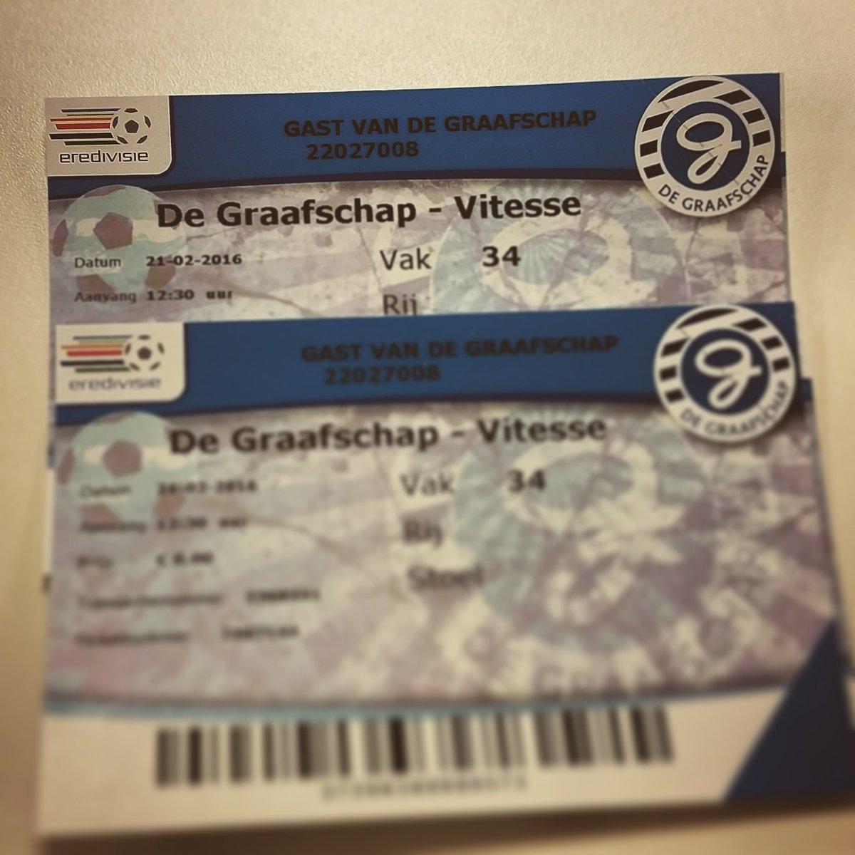 Wil jij kans maken op 2 kaarten voor De Graafschap - Vitesse? Retweet deze tweet en volg @degraafschap! #samendran https://t.co/C9PQN6VMqJ