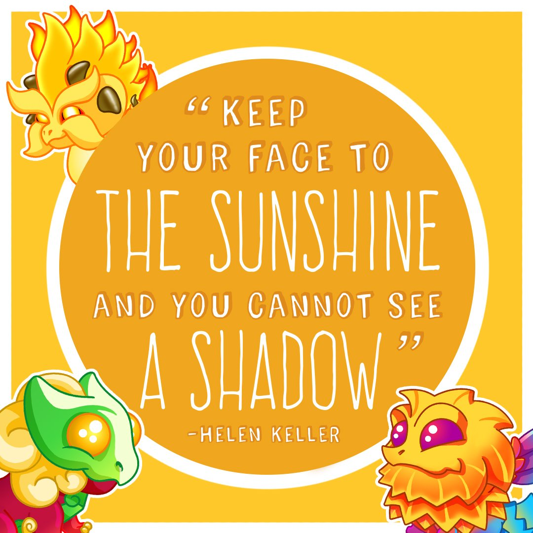 Always look on the bright side of life! Retweet to add some joy into a friend's day. #MondayMotivation #DragonVale https://t.co/kyoVRt83xq