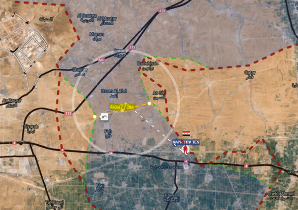 """Jakoben: HONoUR On Twitter: """"#SAA Is Very Close To Cut #ISIS Area"""