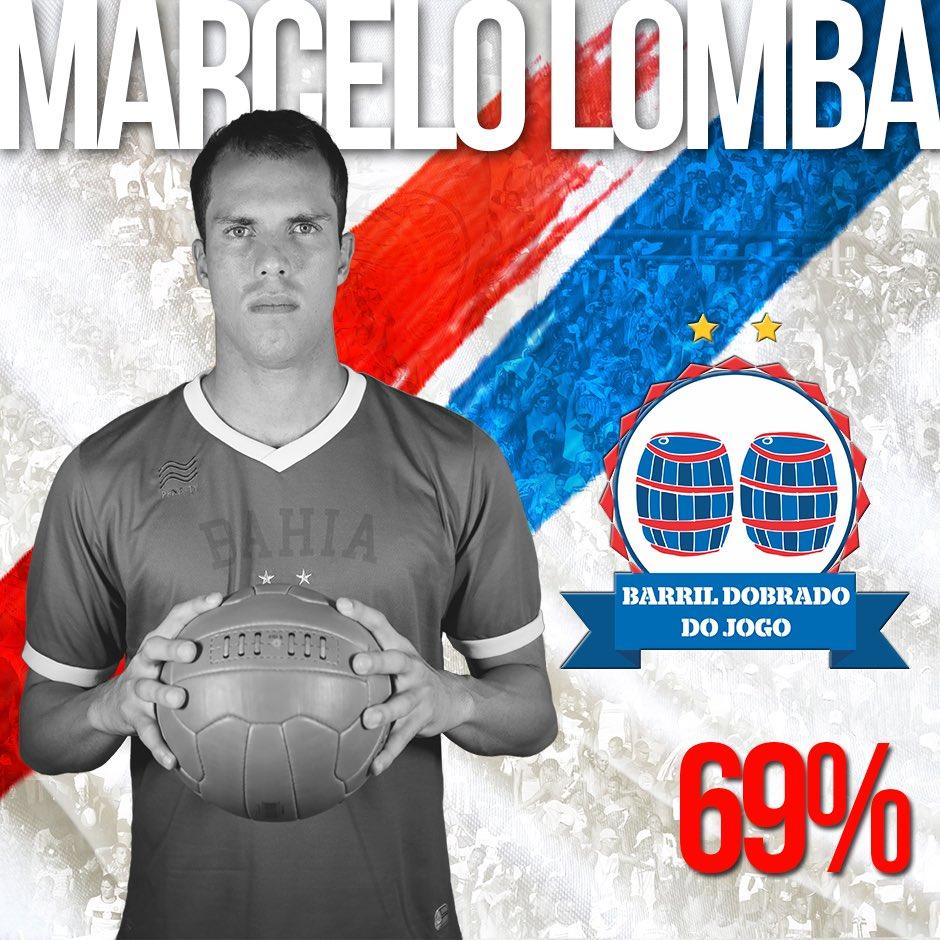 BARRIL DOBRADO DO JOGO - Marcelo Lomba é escolhido o melhor em campo no  triunfo de 50ac21827af57