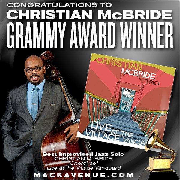 Congrats to @mcbridesworld on his GRAMMY win today!