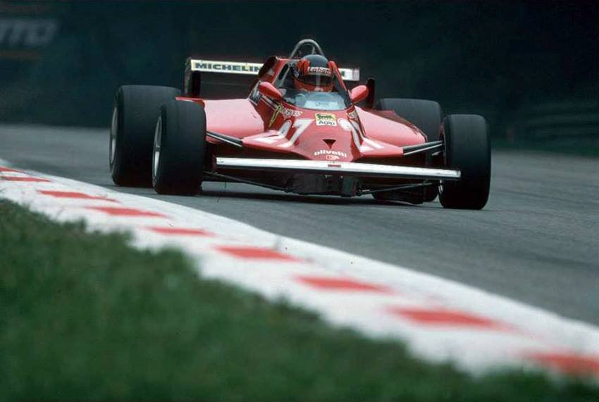 classic formula 1 on twitter gilles villeneuve behind the wheel of his ferrari 126ck at the. Black Bedroom Furniture Sets. Home Design Ideas